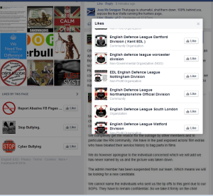 EDL LIKES